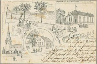 Postkarte alt