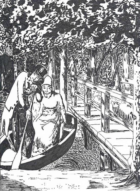 SW Zeichnung Pfarrer-Schmidtbuch 1