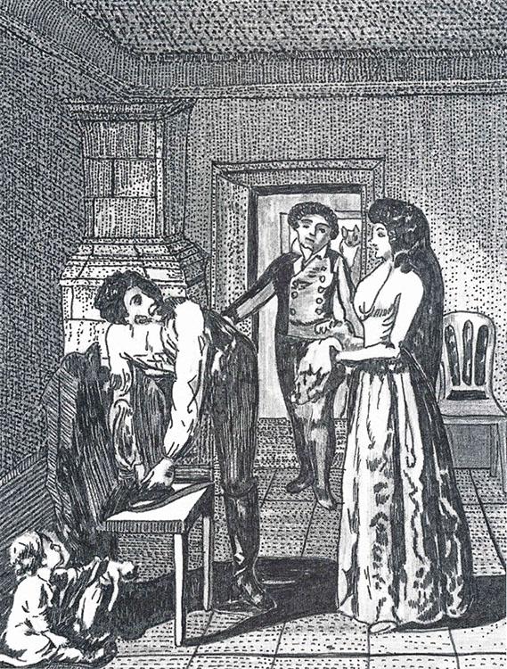 SW Zeichnung Pfarrer-Schmidtbuch 3