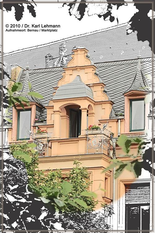 Collage Haus in Bernau