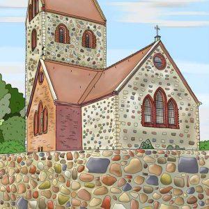 Dorfkirche in Krummensee