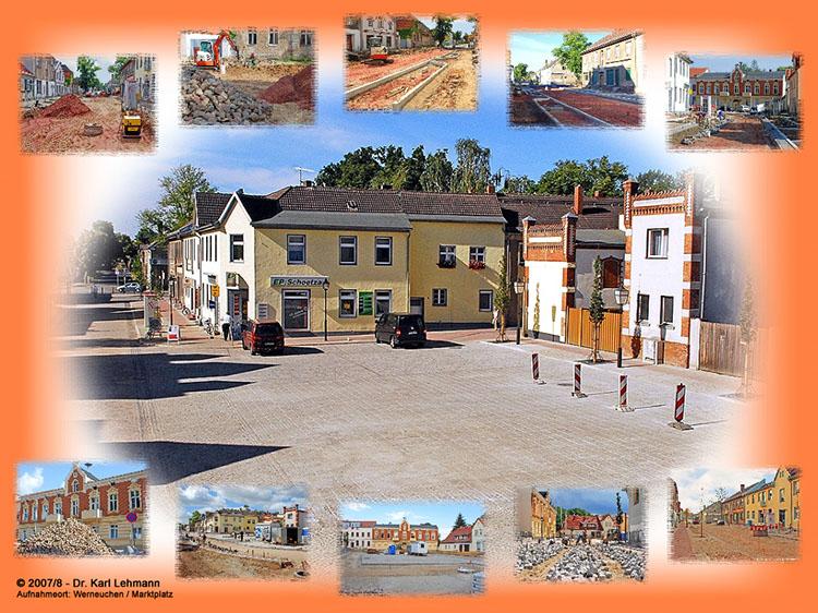 Collage Marktplatz