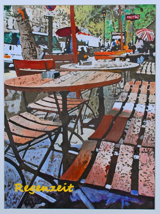 Paris Regenzeit
