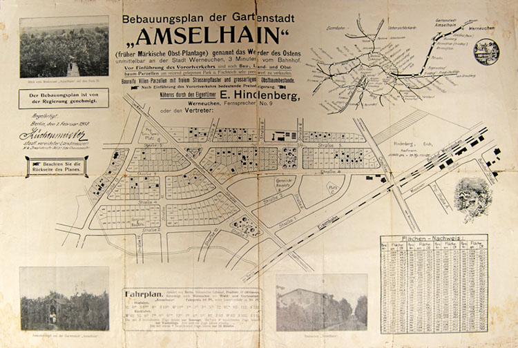 Karte Amselhain alt